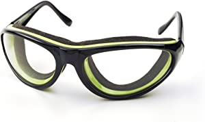 RSVP International (TEAR-BK) Black Onion Goggles, 6