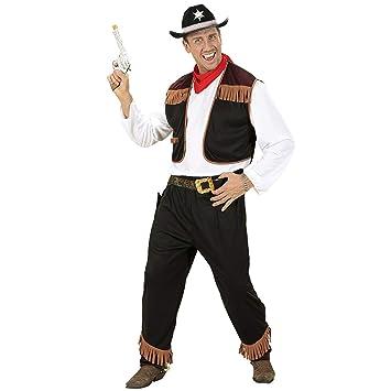 Iden Widmann 02722 - Disfraz de vaquero para adulto (talla M ...