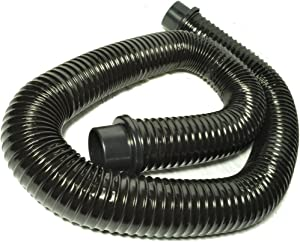 "Wet Dry Vac 6 Foot Black Flexible Hose, 2 1/4"" fitting, 2 1/2"" hose"