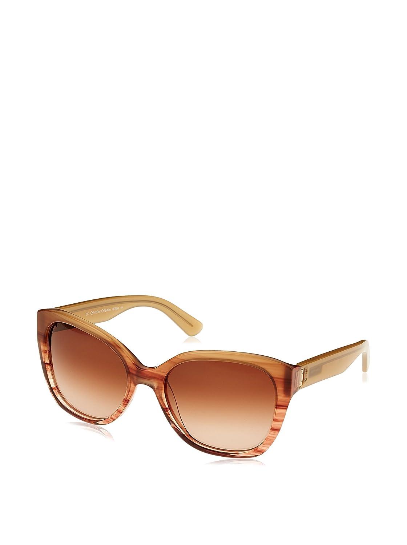 Calvin Klein CK7954S, Gafas de Sol para Mujer, Marrón (Blush Horn), única (Talla del Fabricante: One Size)