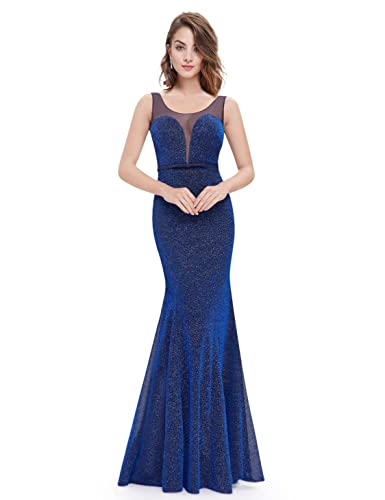 Ever-Pretty Womens Enchanted Evening Dress with Illusion Neckline 08822