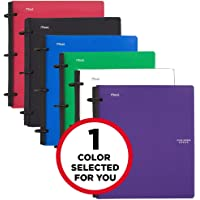 Five Star Flex Hybrid Notebinder, 1-1/2 Inch Binder, Notebook and Binder All-in-One, Assorted Colors - Color Selected for You, 1 Count (29146)