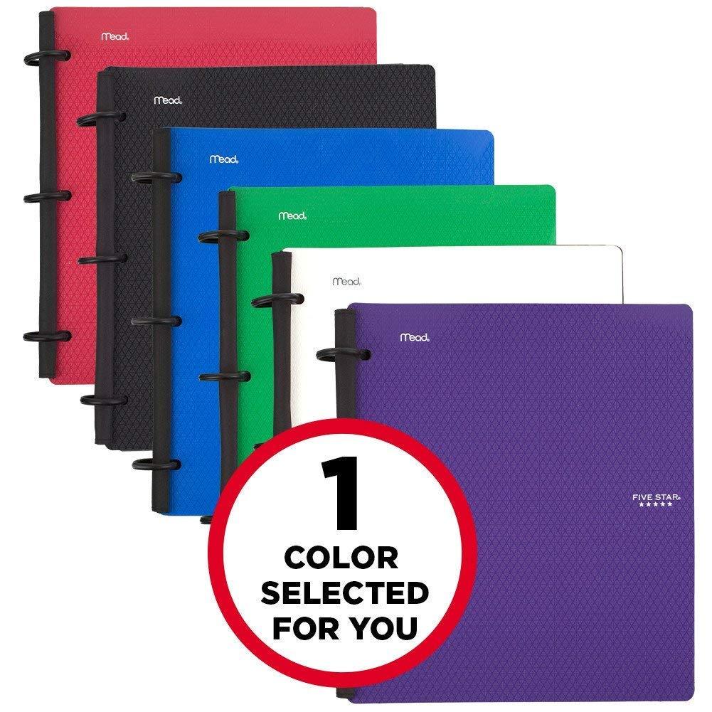 five star flex hybrid notebinder 1 1 2 inch binder notebook and