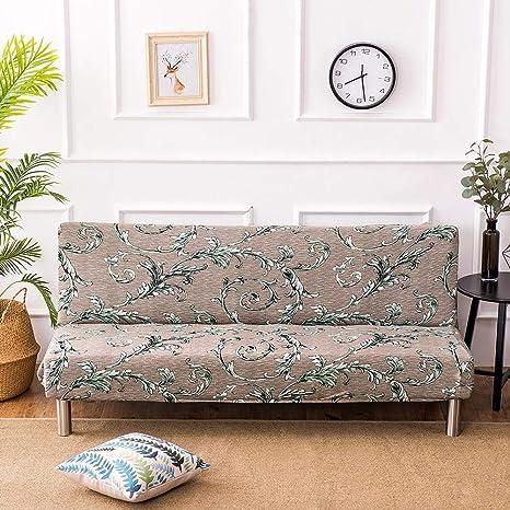 LeKing Funda de sofá elástica Estampada, sin apoyabrazos ...