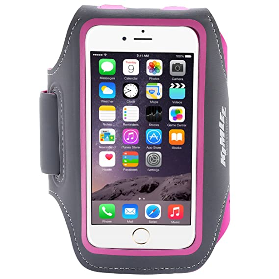 watch 7b8d0 fd2a9 Amazon.com: Kimlee Armband Phone Case Water Resistant Running Arm ...