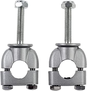 Abrazadera vertical del manillar universal 2 piezas 7//8 abrazaderas de manillar universal para moto Dirt Bike ATV