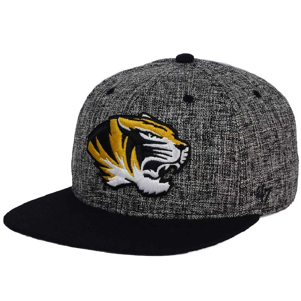 68d18148615  47 Missouri Tigers Weaver Captain Adjustable Snapback Hat Cap