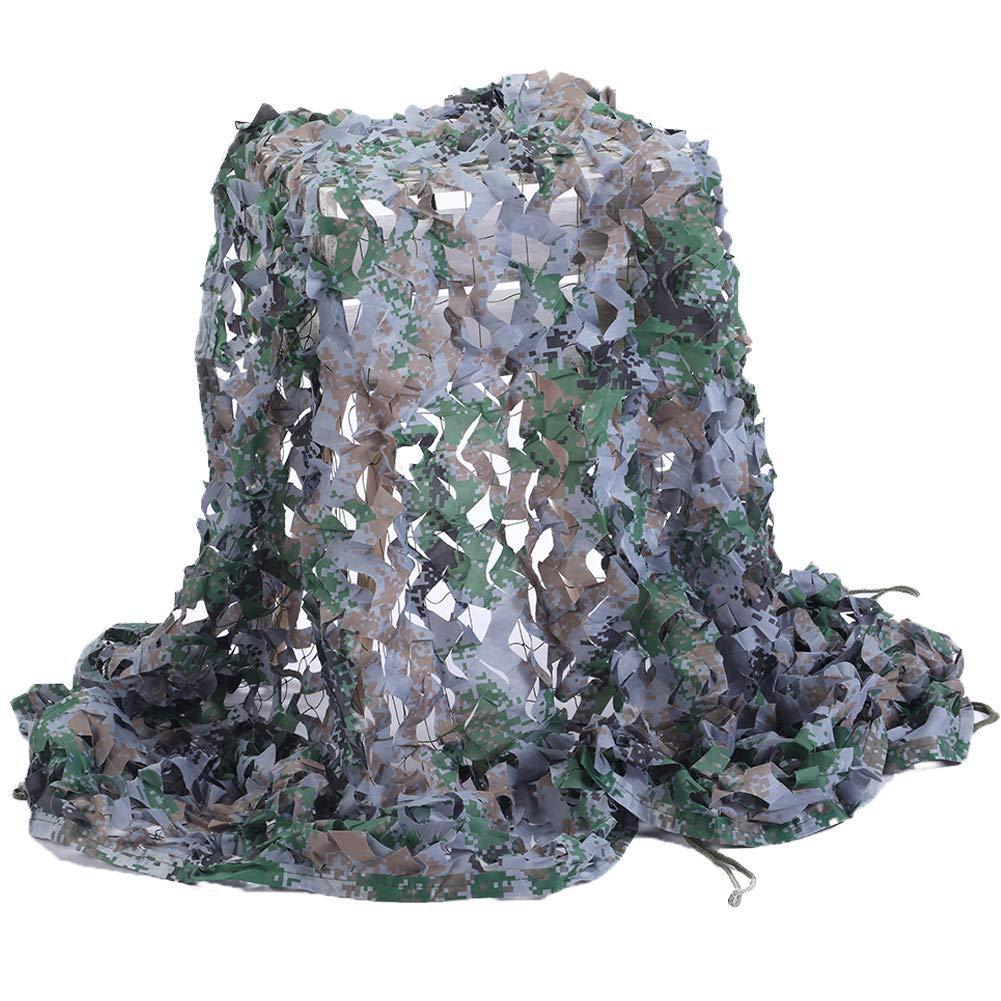 88M BÂche,Filet de camouflage Filet de Camouflage Filet pour Jungle Tir Extérieur Ventilateurs en Tissu CS Oxford Tissu bois Fans Couleur Plusieurs Tailles Plein air, camping, toit, photographie
