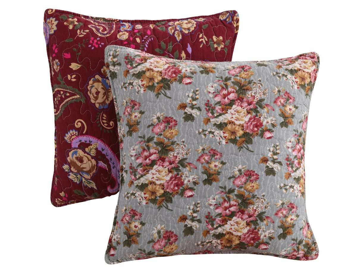 Greenland Antique Chic pillow Pair Accessory, Multicolor