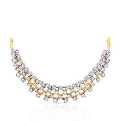 from bridal big set diamond and gold pin gehna designs jewellers latest necklace indian jewellery
