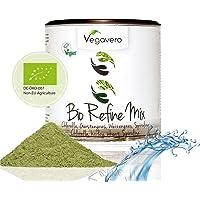 Superfood Mix REFINE BIO Vegavero®   Détox   200g   Spiruline bio + Chlorella bio + Herbe de blé bio + Herbe d'orge bio   Poudre Bio   Vegan