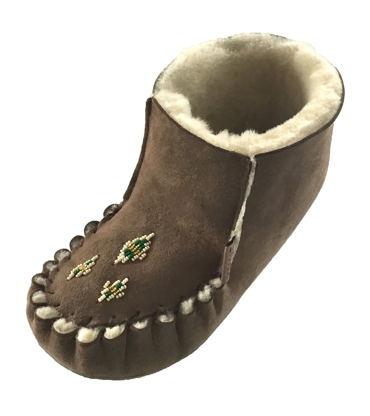 Laurentian Chief Women's Bootie Sheepskin Moccasins size 9
