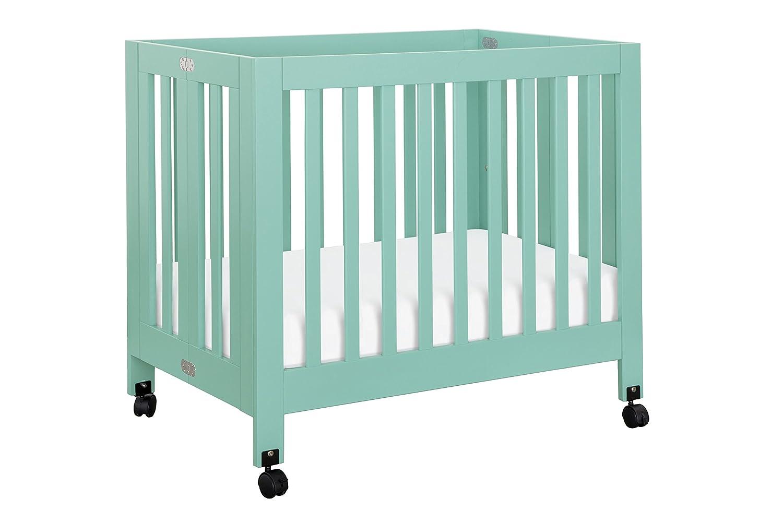 Babyletto Origami Mini Crib, Petal Pink DaVinci - DROPSHIP M6698LP