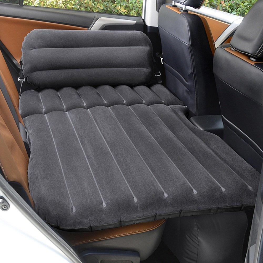 YQQ Im Freien Kampieren Selbstfahrendes Reisebett Auto Aufblasbares Bett Tragbar Luftmatratze (Farbe : SCHWARZ)