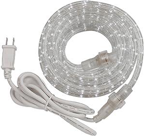 Amazon 6 ft rope light kit home improvement westek rwled6bcc led rope light kit 6 feet aloadofball Images