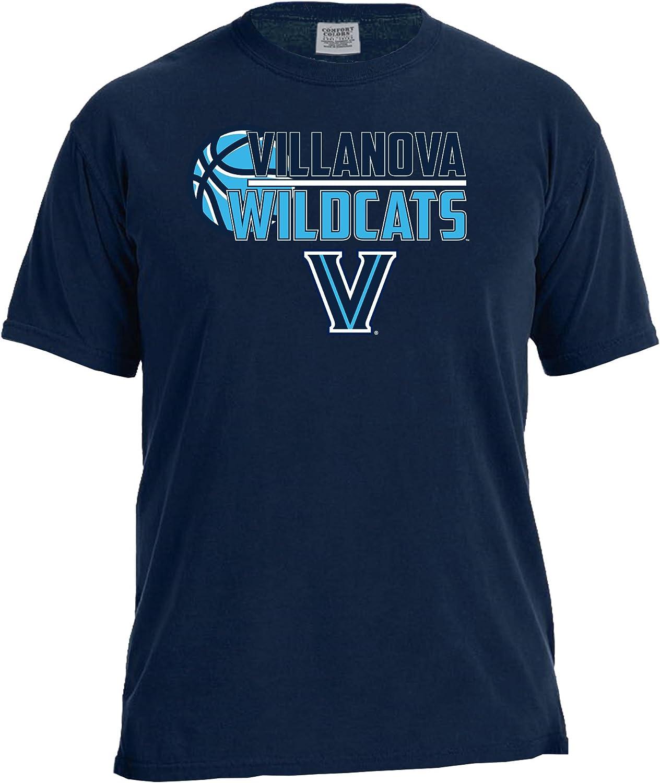 Image One NCAA Basketball Logo Short Sleeve Comfort Color Tee