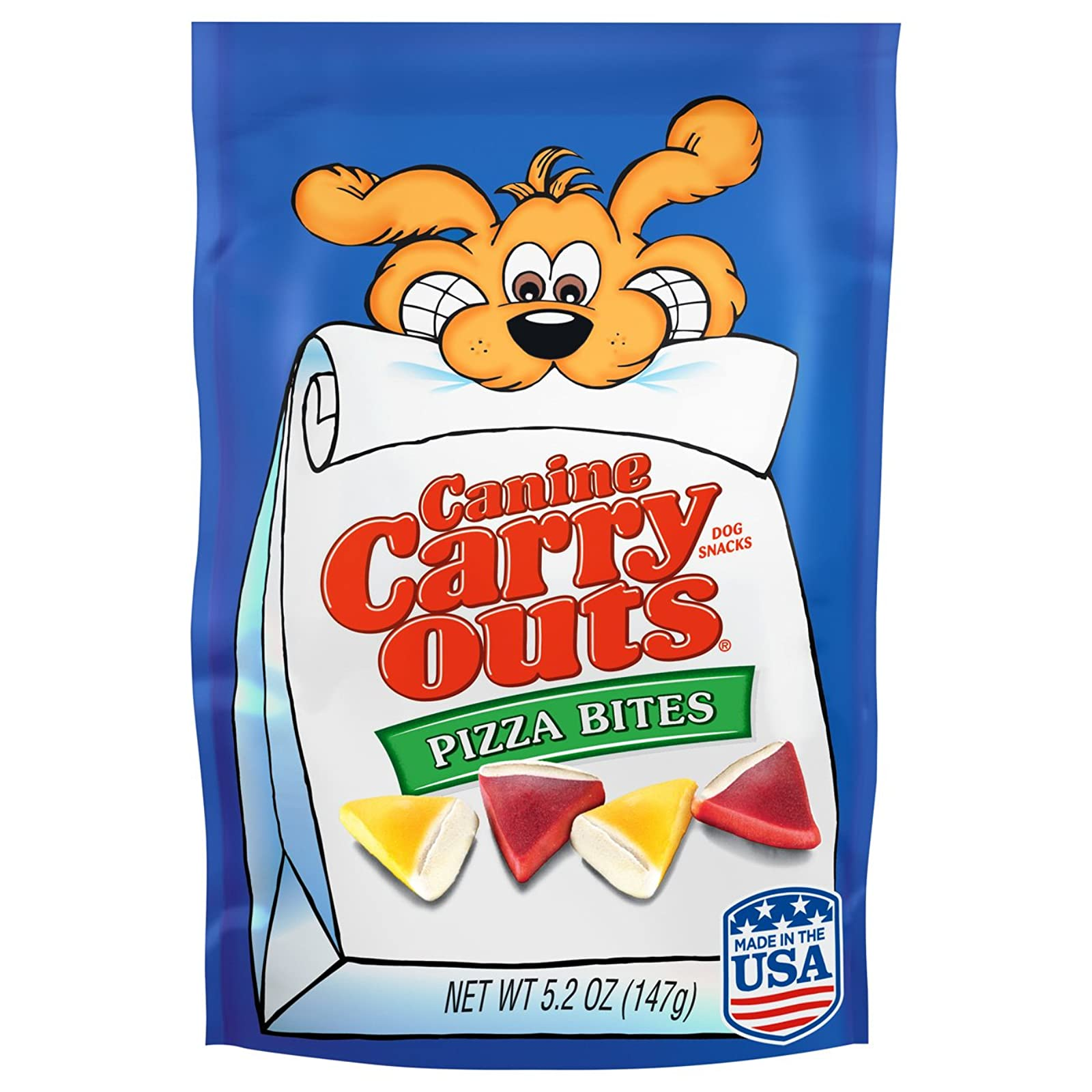 Canine Carry Outs Pizza Bites Flavor Dog - 1