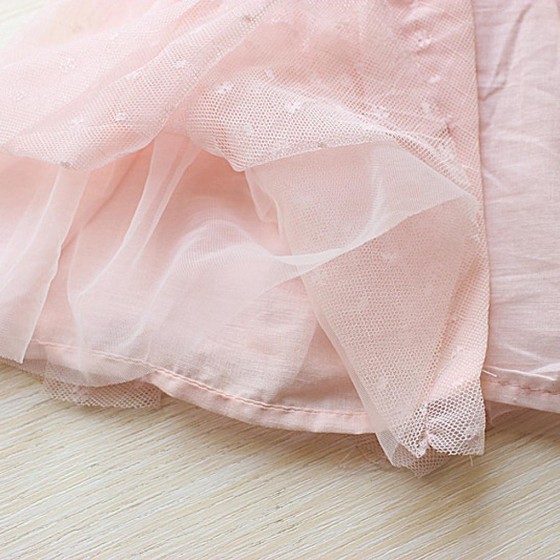 Fille Robe de Princesse Tutu Fil Dentelle Robe de Mariage de C/ér/émonie Mounter Robe B/éb/é