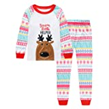Amazon Price History for:Tkala Girls Christmas Pajamas Children Clothes Set 100% Cotton Little Kids Pjs xmas Sleepwear