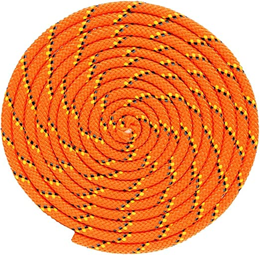 Swings Camping Mold Marine Needs Resistant to Rot Mildew Securing Cargo Tie-Downs Polypropylene Utility Rope Great for Crafts and Much More! and Moisture