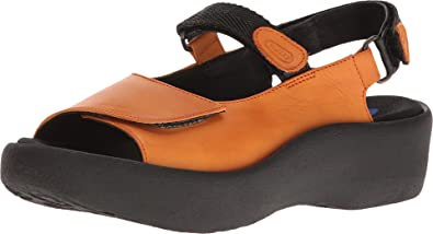 e6e2b3fc806 Wolky Womens 3204 Jewel Denim Canals Leather Sandals  Amazon.ca ...