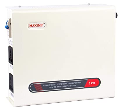 maxine 1000 watts 1 kva auto wound voltage converter 220 v to 110 v