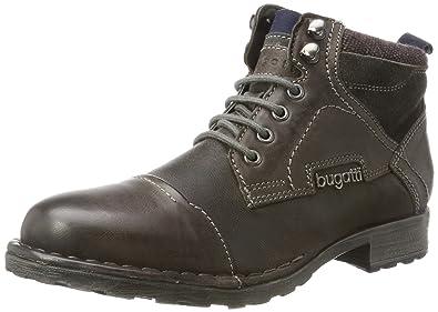 Mens 321343503200 Classic Boots, 1100-Dark-Grey Bugatti