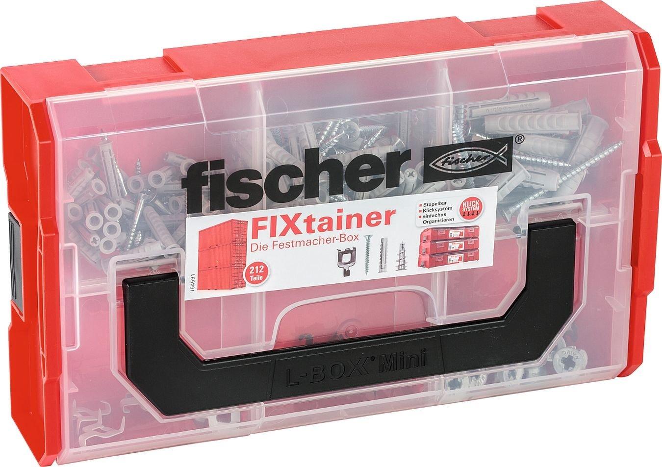 Fischer FIXtainer Mallette de rangement pour vis etc, 532893