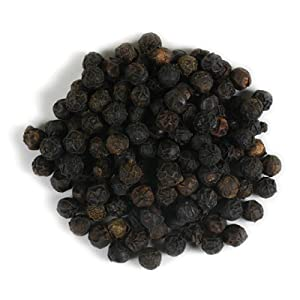 Frontier Co-op Peppercorns, Black Whole, Tellicherry, Certified Organic, Kosher, Non-irradiated | 1 lb. Bulk Bag | Piper nigrum