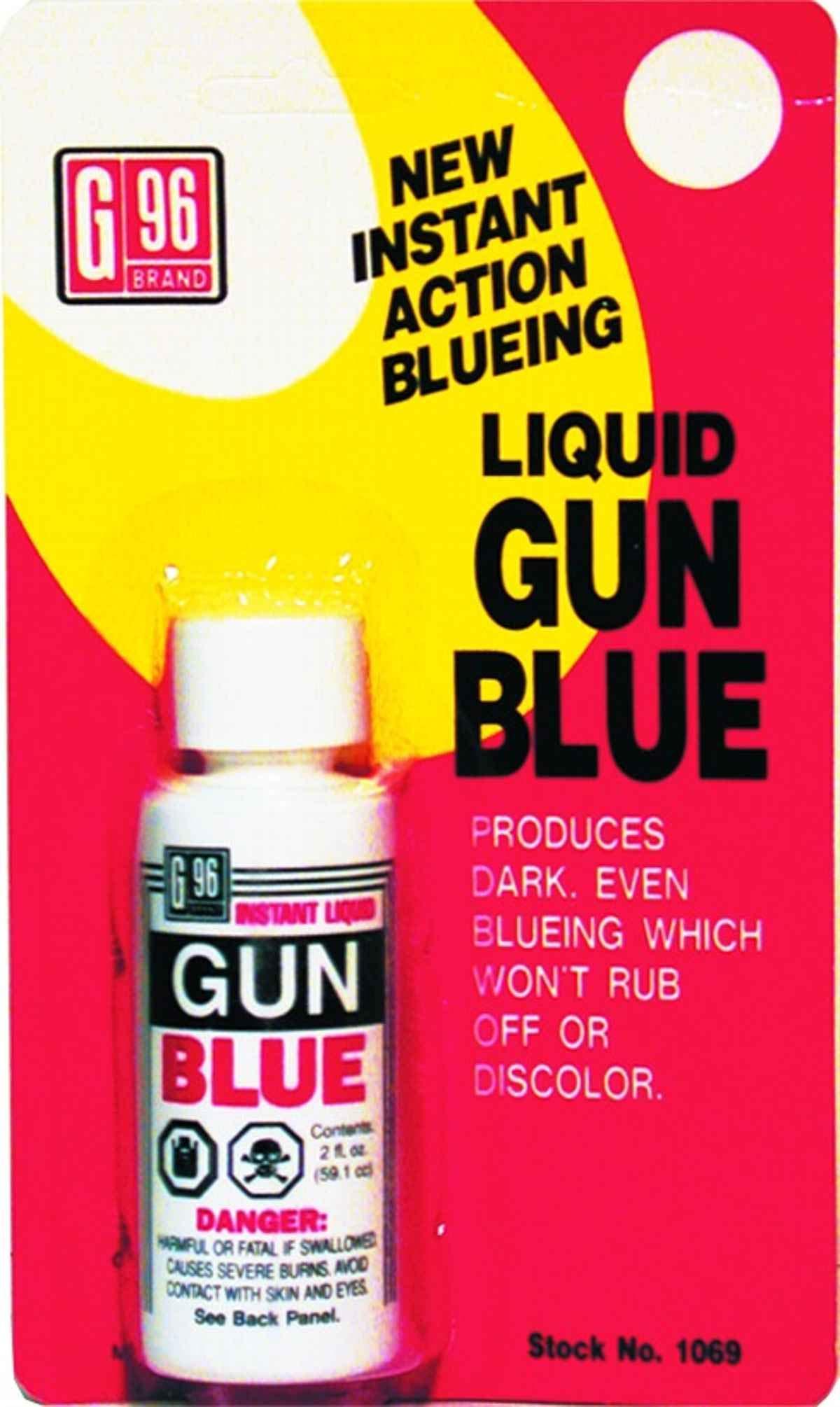 G96 PRODUCTS INC 1069 Liquid Gun Blue (2 OZ.)