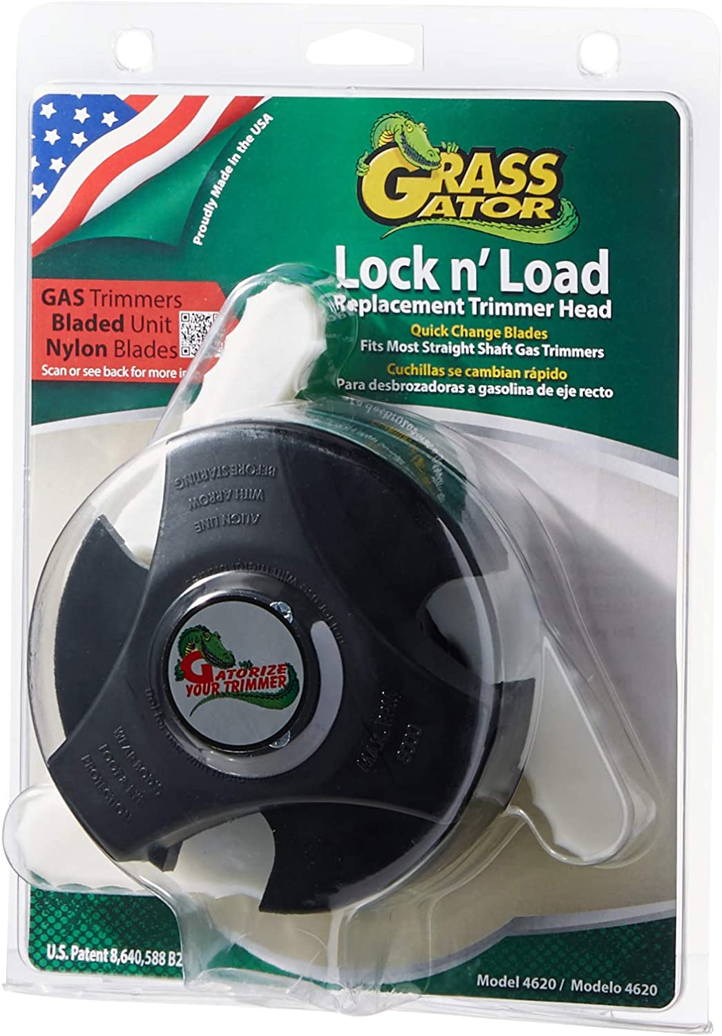 Grass Gator 4620 Heavy Duty Lock & Load Replacement String Trimmer Head