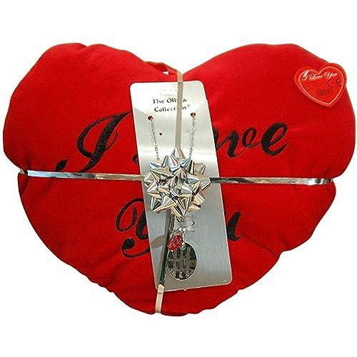 Amazon.com: The Olivia Collection Love colgante y corazón ...