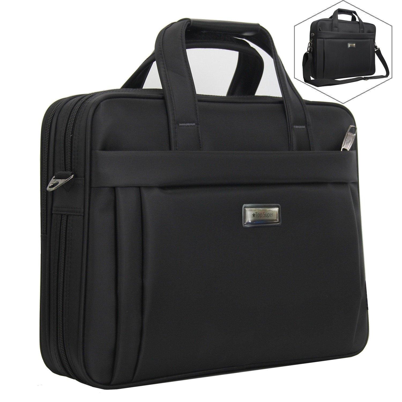 Laptop Bag 15.6 Inch, Business Computer Briefcase Laptop case for Men/Women/School/Travel, Multifuntional Organizer Messenger Shoulder Bag Fit for 15.6 Inch HP Dell Acer Asus Computer Notebook Macbook