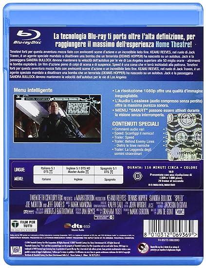 Speed [Blu ray] [IT Import]: : Sandra Bullock, Joe