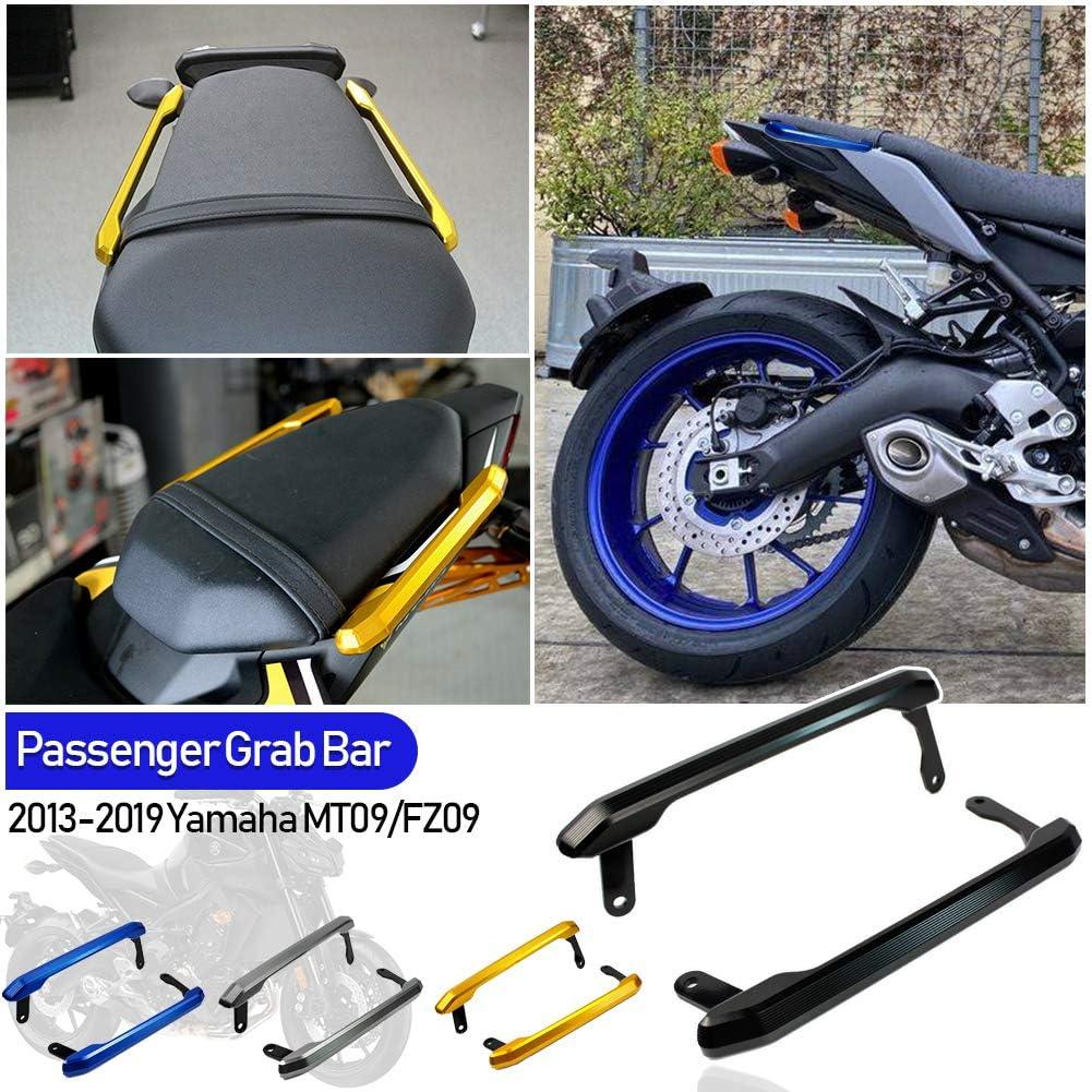 Fatexpress Motorcycle Cnc Aluminium Rear Passenger Socius Seat Grip Rail Kit For 2013 2016 Yamaha Mt Fz 09 Mt 09 Fz 09 Mt09 Fz09 2014 2015 13 16 Auto