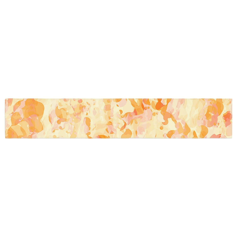 Kessインハウスct3050atr01 CarolLynn Tice「爆発」オレンジテーブルランナー   B01I4N4758