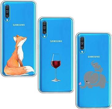 Fantasyqi Fundas Compatible con Samsung Galaxy J5 2017 / J5 Pro / J530 Funda 3 Paquetes Ultra Fina Suave TPU Gel Carcasa [Protección a Bordes y Cámara] Transparent Case Cover Silicona Funda: Amazon.es: Electrónica