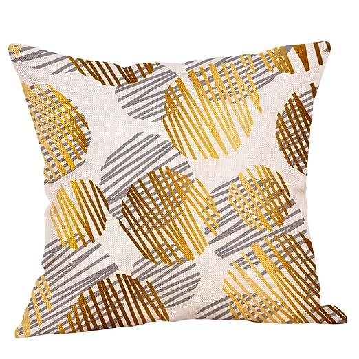 squarex - Funda de cojín de Cuidado fácil, Decorar el sofá o ...