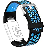 Fitbit Charge 2 Band, AK Adjustable Soft Silicone Fitbit Charge 2 Bands Replacement Strap for Fitbit Charge 2 HR Fitness Wristband