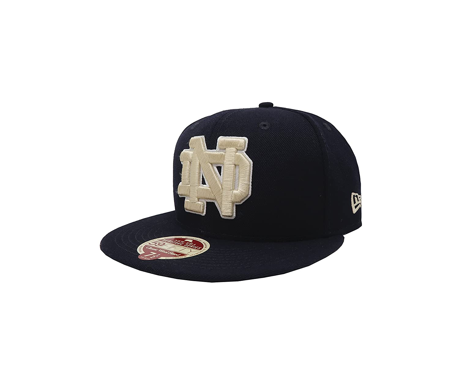 de289679881d12 80200059 Heritage Series Hat University of Notre Dame Fighting Irish Fitted  Cap at Amazon Men's Clothing store:
