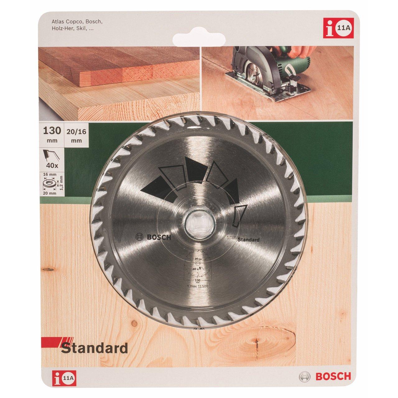 Hoja de sierra circular STANDARD Bosch 2 609 256 803