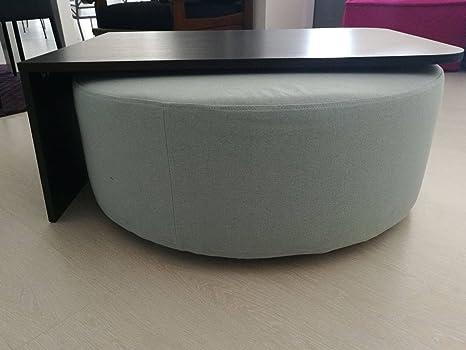 Exequa Line Originale ed Elegante Tavolino con Pouf Girevole, YOYO ...