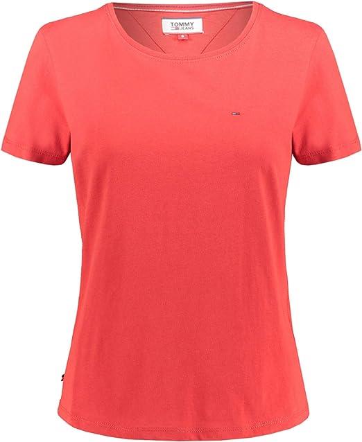 Tommy Jeans Damen Soft Jersey T Shirt