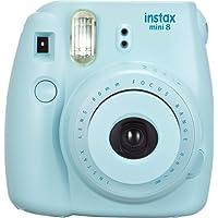 Fujifilm Instax Mini 8, Sofortbildkamera, Kamera, blau