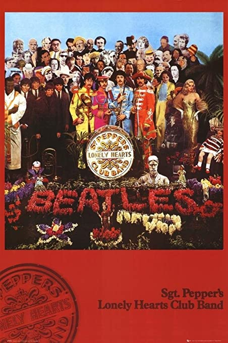 Amazon com: THE BEATLES - SGT PEPPERS - NEW POSTER(Size 24