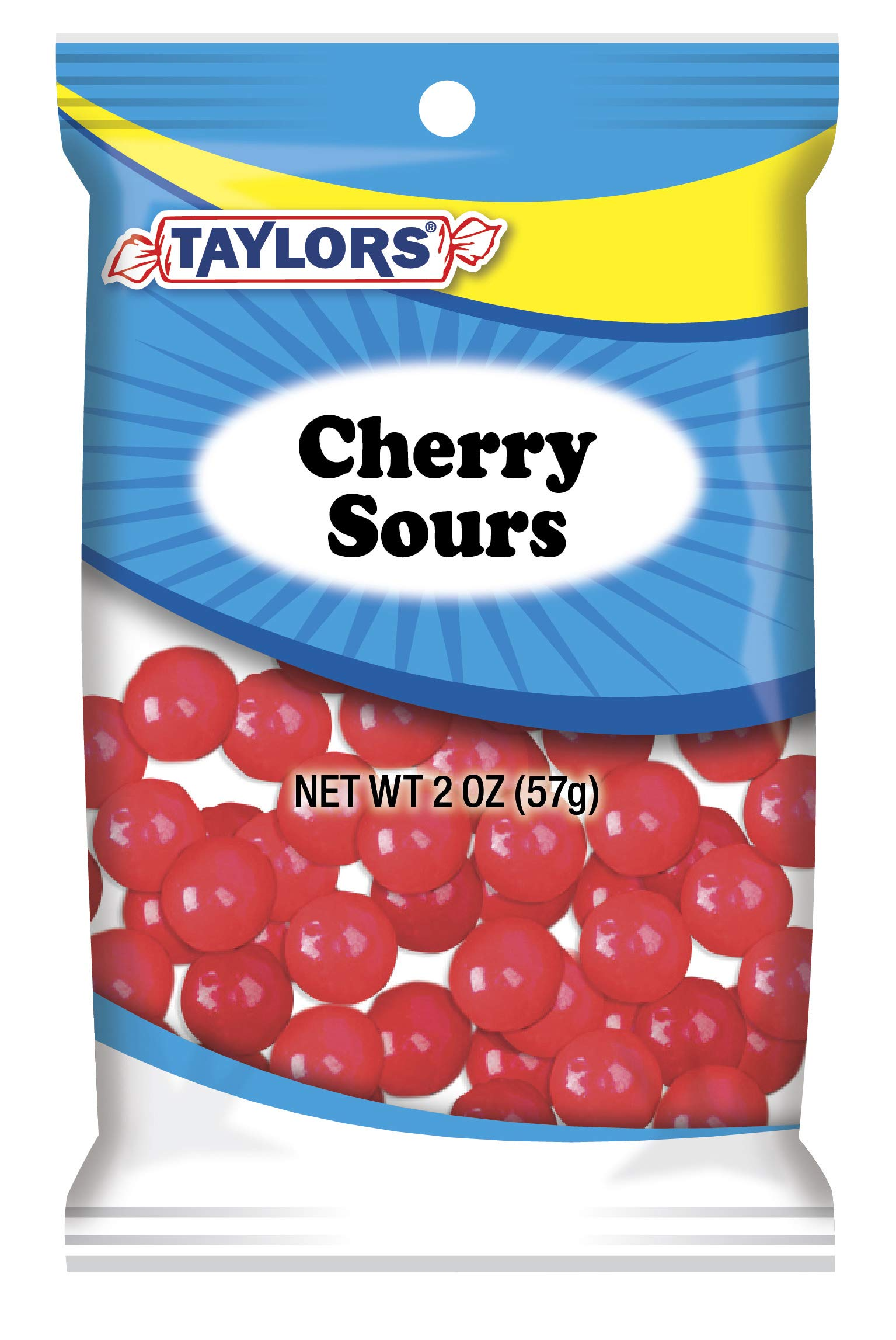 Taylors Candy 2 oz Cherry Sours Candies, 24 Count (Pack of 1) by TylrdsCn (Image #1)
