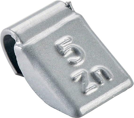 Perfect Equipment 3184 0052 151 Wuchtgewichte Stahlfelgen 5g 100x Schlaggewichte Silber Beschichtet Auswuchtgewichte Stahlfelgen Schlaggewicht Stahl Auto