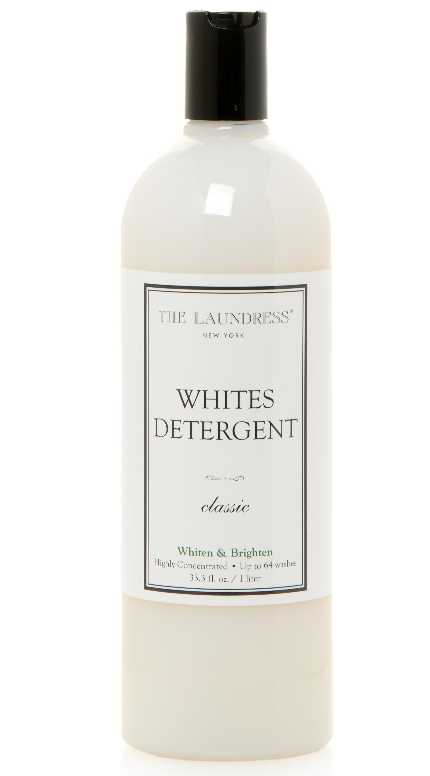 The Laundress - Whites Detergent, Classic, Whitens & Brightens, Fights Stains & Yellowing, 33.3 fl oz, 64 washes