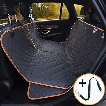 Amazon.com: iBuddy - Fundas de asiento de coche para perro ...