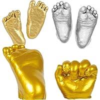 NUOLUX Fundición para bebés 3D para huellas